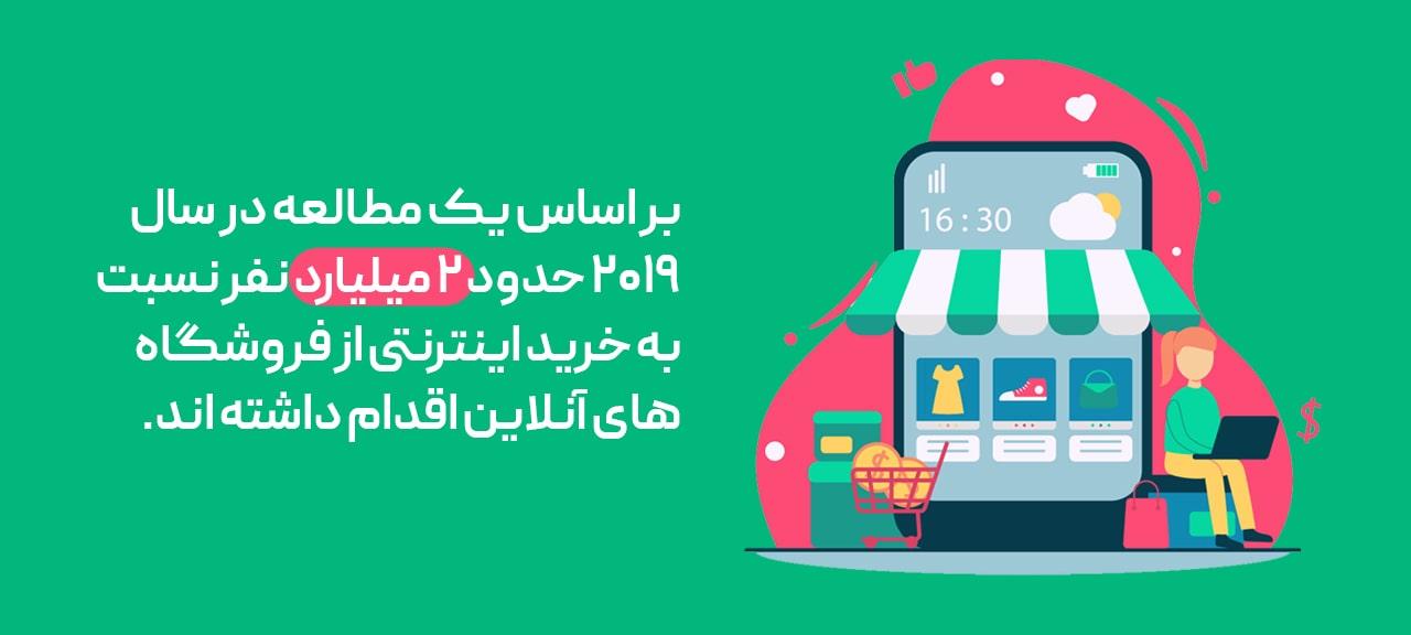 درآمد فروشگاه آنلاین