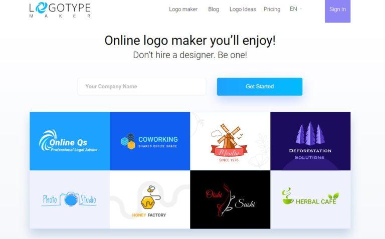 لوگو ساز Logo Type Maker