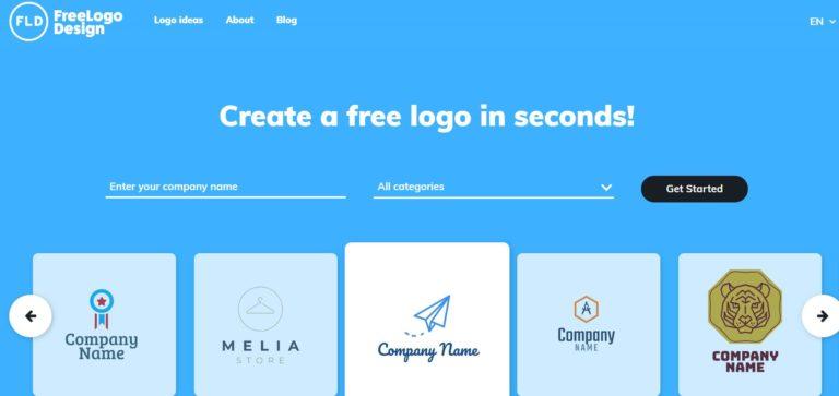 لوگو ساز آنلاین Free Logo Design
