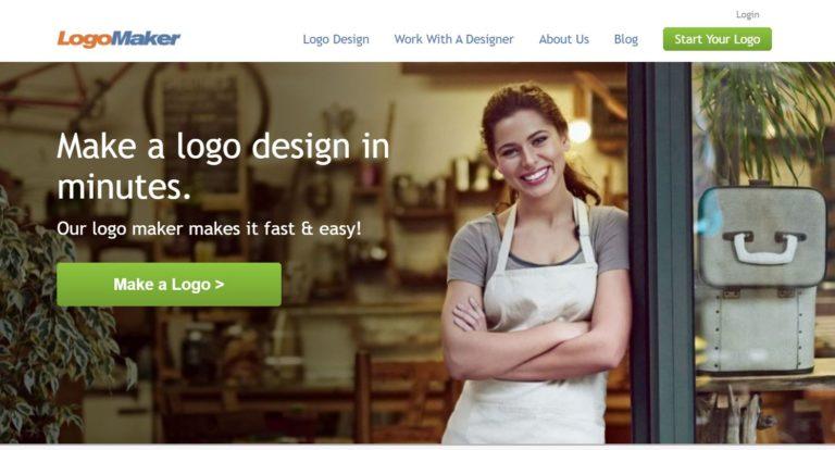 لوگو ساز آنلاین LogoMaker