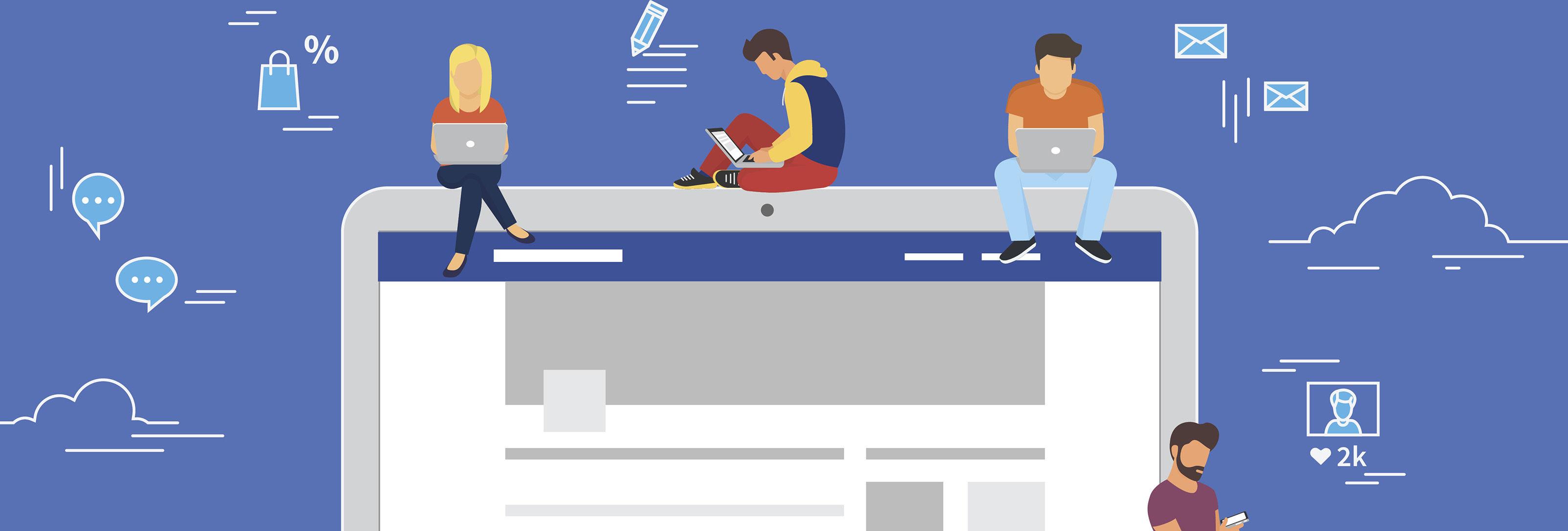 لینک کردن سایت به شبکه های اجتماعی