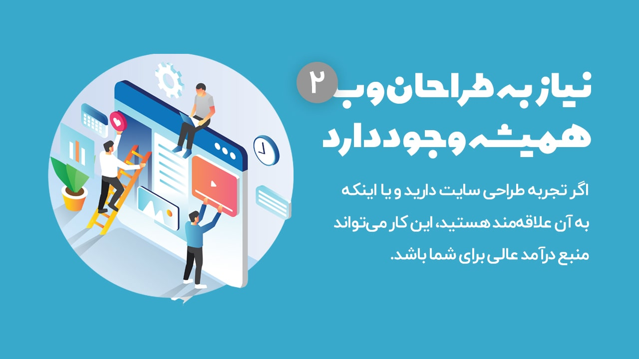 کسب درآمد از طراحی وب سایت