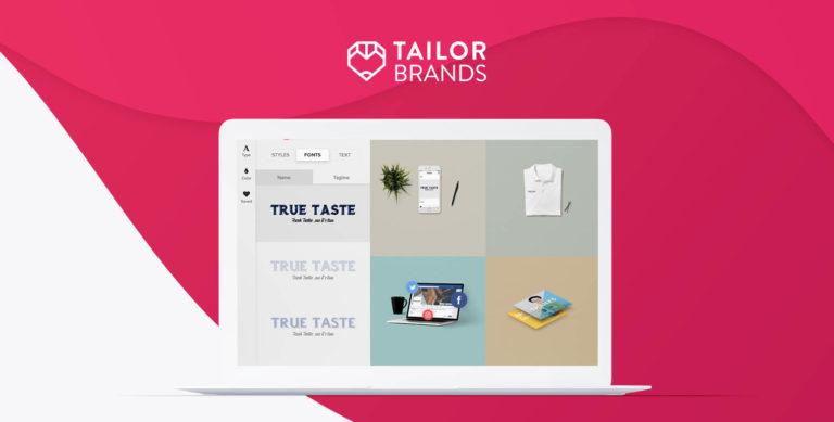 لوگو ساز رایگان Tailor Brands